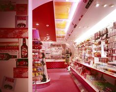 Pink-latte store by GandD Tokyo 03