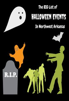 The BIG List of Halloween Events in Northwest Arkansas 2016