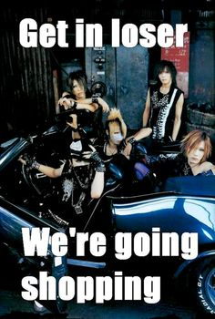 Uruha. Ruki. Kai. Aoi. Reita. the GazettE.