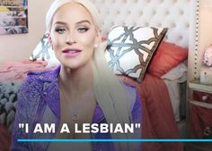 Trans YouTuber Gigi Gorgeous reminds viewers only you can define your sexuality...