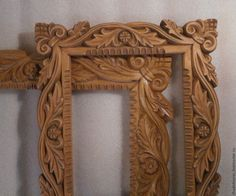 Dremel Carving, Wood Carving Art, Cornice, Crafts For Kids, Mirror Mirror, Salons, 3d, Home Decor, Carving