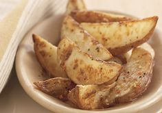 Mrs. Dash Roasted Potatoes. I use russets. They're a favorite!