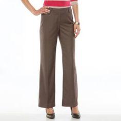 Apt. 9 Curvy Fit Straight-Leg Pants - Women's