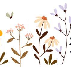 Plant Illustration, Digital Illustration, Watercolor Flowers, Watercolor Art, Iphone Wallpaper Tumblr Aesthetic, Ipad Art, Posca, Floral Illustrations, Easy Paintings