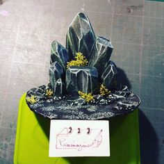 I\'m glad  done! #miniature #figurine #diy #scenery #prissimagine #diorama #artsy #originalart #painting #hobby #handcrafted #instadaily #miniatures #crystals #power #stone #pierres #original #warmachine #cryx