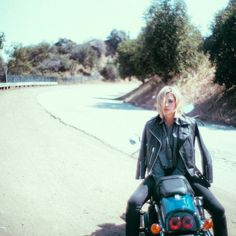 Ashley's outfit is perfect for this ride.   Pretty Little Liars