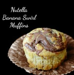 These muffins are one of my absolute favorite ways to use up overripe bananas. Obviously they are tasty (hello, banana + Nutella = match made in heaven), but they also can be whipped up in under 30 minutes from start to finish. Total win-win in my book. Nutella Banana Swirl Muffins Yield: 18 muffins ingredients: …