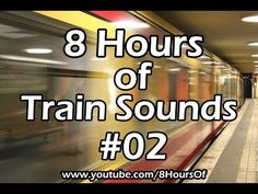 8 Hours of sleep sounds. Relaxing train sounds. If you listen to this during sleep or meditation you will feel peaceful and calm. Great for tinnitus, meditation, yoga, when you study, go to sleep, have insomnia or have sleep deprivation.  Please like, subscribe and comment if you enjoyed this video. It will really help me out a lot. :)  http://www.youtube.com/subscription_center?add_user=8hoursof