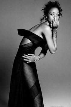 Rihanna for ELLE US - December 2014 issue