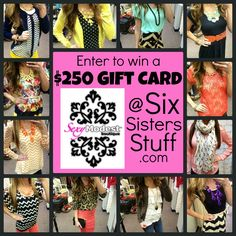 We are so excited to be giving away a $250 Gift Card to @SexyModest Boutique!  Everything is always under $50 and FREE SHIPPING!  It is our favorite place to shop! #sexymodest #style #giveaway