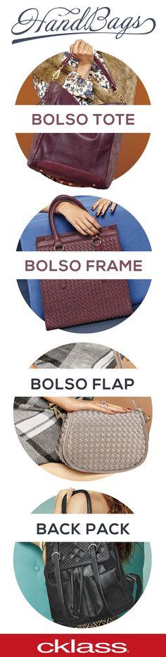 ¿Estas harta de buscar el bolso que complete tu estilo? ¡Deja de preocuparte! y conoce colección Handbags de Cklass - Los mejores Catálogos de México y encuentra tu bolso ideal.
