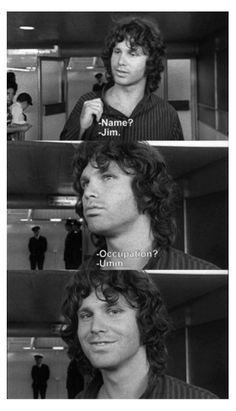 Jim Morrison of The Doors