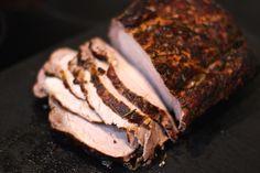 Savua ilman tulta: Porsaan ulkofileen savustus - Chez Henkka Smoking, Steak, Pork, Kale Stir Fry, Steaks, Tobacco Smoking, Pork Chops, Vaping, Smoke