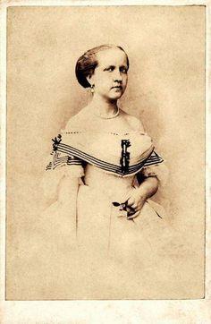 Princesa Isabel aos 17 anos de idade