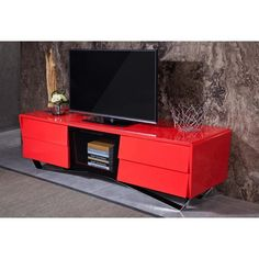 Merveilleux Red Tv Stands