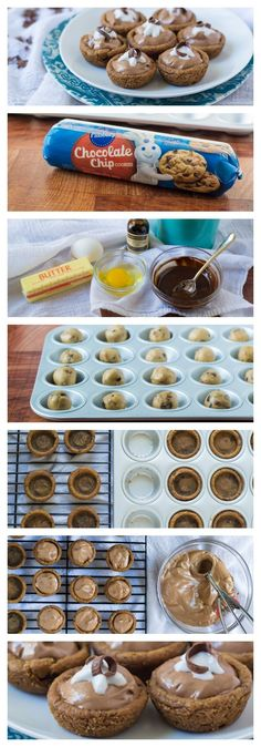 Adorable Mini French Silk Pies for chocolate lovers!