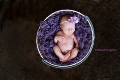 1 pale purple and feather headband newborn by pinkladybuggirl, $8.50