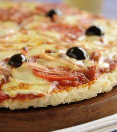 Pizza de arroz. Realizada en muy pocos minutos. Para toda la familia, con ingredientes que tenes en casa. #arroz #pizza
