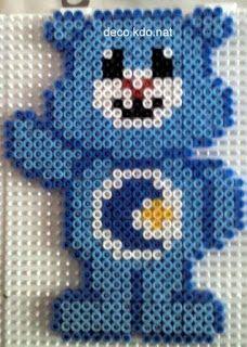 DECO.KDO.NAT: hama beads: Care Bears
