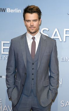 Pin for Later: 45 Really, Ridiculously Good-Looking Pictures of Josh Duhamel  Josh Duhamel looked seriously handsome at the Berlin premiere of Safe Haven in February 2013.