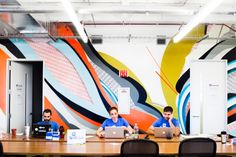"""Inside The Coolest Office In Chicago  #refinery29  http://www.refinery29.com/1871-offices#slide4  Our tour through 1871 led us to the Excelerate Labs, a business accelerator program with offices inside of 1871. Mark Lawrence of Spothero shared his thoughts on the space.  How have other startups working at 1871 inspired you? """"There are too many to count.  I love running into the Zyndeo guys Ben and John, and I'm inspired by the energy of working around all the Excelerate Labs companies in our…"""