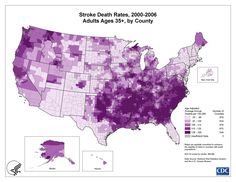 "Find out if you live in the #Stroke belt? Stroke is a ""heart attack of the brain"". Join the fight against brain attacks @CDC"