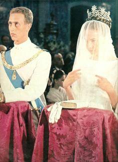 Prince Amedeo of Savoy, Duke of Aosta & Princess Claude of France