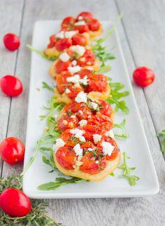 Mini Tomato Tarts Tatin   (Appetizers)