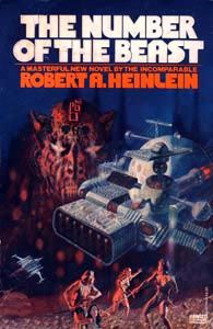 I was re-reading an old favorite, Robert A. Heinlein's The Number of the Beast, and I started wondering why it was an old favorite. Granted, anything Heinlein is better than most, but why this one in. Sci Fi Books, Film Music Books, My Books, Fantasy Book Covers, Fantasy Books, Science Fiction Books, Fiction Novels, Number Of The Beast, Pocket Books