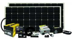 Go Power! 320 watt complete solar power system with inverter