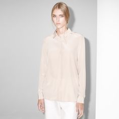 Silkeskjorte FWSS Fall Winter Spring Summer, Fall 2015, Nude, Grey, Blouse, Shirts, Shopping, Tops, Women