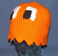 Awesome Pac Man ghost hat.