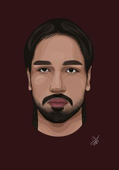 Digital Portrait, Portrait Art, Realistic Face Drawing, Mandala Drawing, Drawing Art, Eye Illustration, Digital Art Tutorial, Drawing Challenge, Drawing Techniques