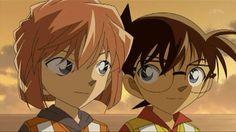 Haibara Ai and Edogawa Conan