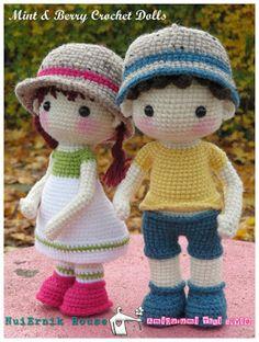nuiernik.com: Mint&BerryCrochetDoll