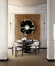 Top Luxury Dining Rooms ➤Discover more interior design trends and news at www.bestdesignguides.com #bestdesigntrends #designguides #DiningRoomTrends #Luxurydiningrooms @bestdesignguides #bestdesignguides @koket #bykoket  #lovehappens #topluxurybrands