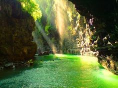 Green canyon, west java, INDONESIA What a beautifull place...