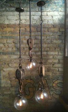 Industriële hanglampen - industriele lampen verlichting - industrieel interieur
