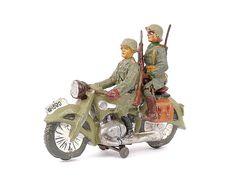 MOTORCYCLE 74: Vintage Elastolin motorcycle toys