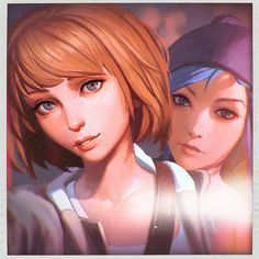 Max & Chloe selfie for Life Is Strange official Facebook page!www.facebook.com/LifeIsStrange… You can support me and get access for process steps, videos, PSDs, brushes, etc. here: www.p...