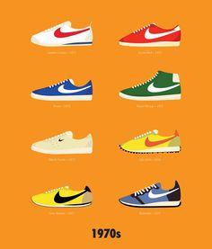 Stephen Cheetham Illustrates His Favorite Nike Sneakers - 1970s