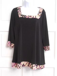 womans top shirt tunic sz s stretchy work casual