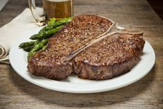 24 oz T-Bone Steak Aged for 30 days, grilled to your taste for the unabashed appetite T Bone Steak, Grilling, Meat, Food, Crickets, Essen, Meals, Yemek, Eten