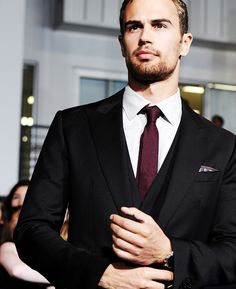Theo James, New hottie I'm eyeing these days!!!