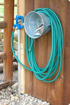 Diy Garden Hose Storage Diy Ideas Garden Hose Storage