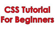 CSS Tutorial Pt 1 - Basic Layout