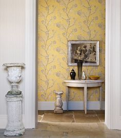 Buy Linen, 212133 Sanderson Chinese Peony Wallpaper from our Wallpaper range at John Lewis & Partners. Free Delivery on orders over Red Orchids, Classic Wallpaper, Print Wallpaper, Fabric Wallpaper, Inspirational Wallpapers, Happy House, Wallpaper Online, Wall Treatments, Home And Living
