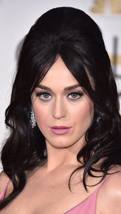 Katy Perry wearing light pink