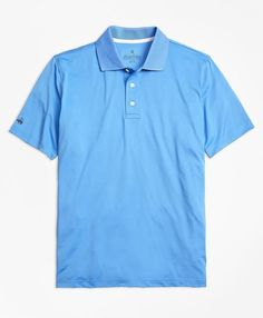 Elevate casual style with men's polo shirts and tees from Brooks Brothers, available in both short and long sleeve designs. Brooks Brothers, Summer Outfits, Summer Clothes, Polyester Spandex, Stylish, Sleeves, Mens Tops, Polo Shirts, Golf
