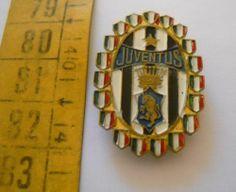 calcio distintivo spilla Juventus scudetti Bellini old pin football badge